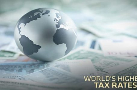 Highest Statutory Corporate Income Tax Rates in the World, 2019