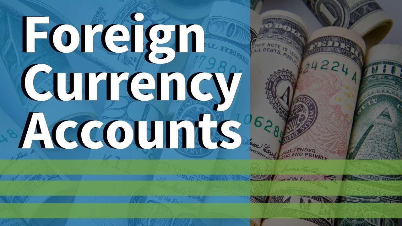 Foreign-Currency-Accounts