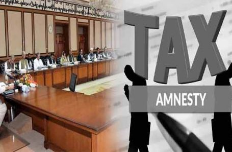 PTI government considering another tax amnesty scheme