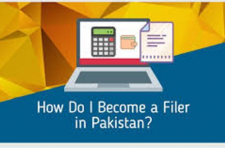 How to become active tax filer in FBR