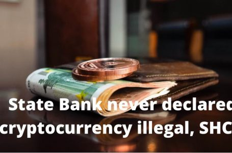 State bank never declared cryptocurrency illegal: SHC