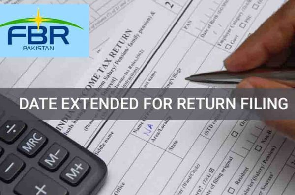 FBR extended income tax return filing date up to December 24