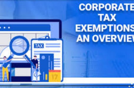 Corporate tax exemptions