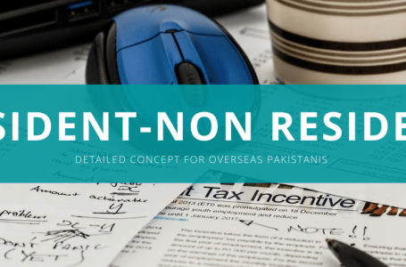 Resident and Non Resident status under tax laws of Pakistan