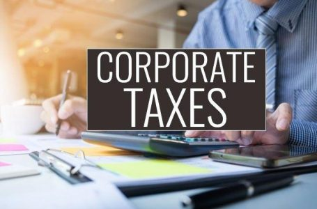Significant progresses in corporate taxes