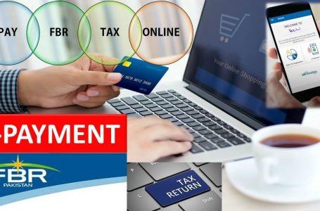 e-payment limit of taxes abolished