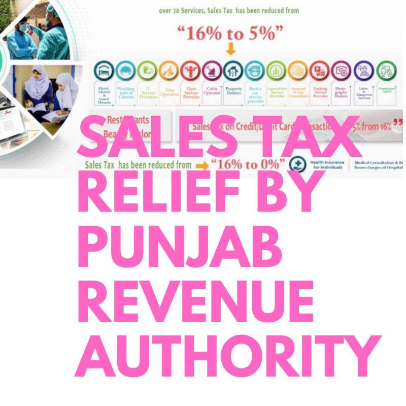 Sales-Tax-Relief-Punjab-Revenue-Authority