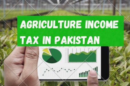 Tax on Agricultural Income in Pakistan