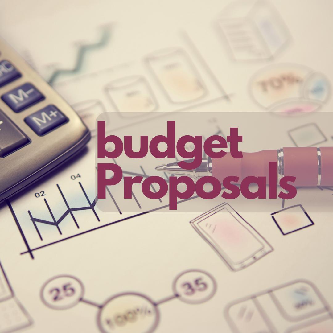 Budget Proposals 2021
