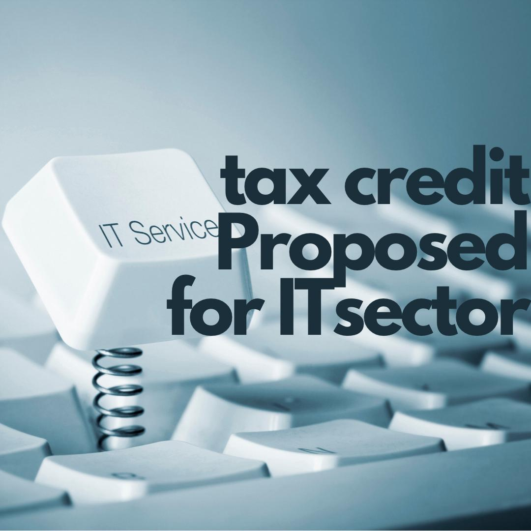 Tax credit for IT Sector Proposed By FBR