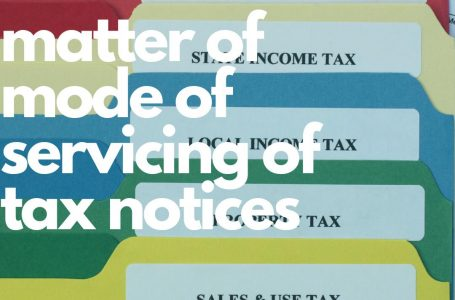 KTBA requested the FBR to withdraw clarification regarding mode of furnishing of tax notices