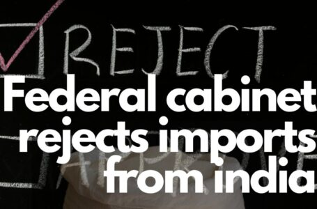 Federal Cabinet Rejected Summary of Sugar and Cotton Imports from India