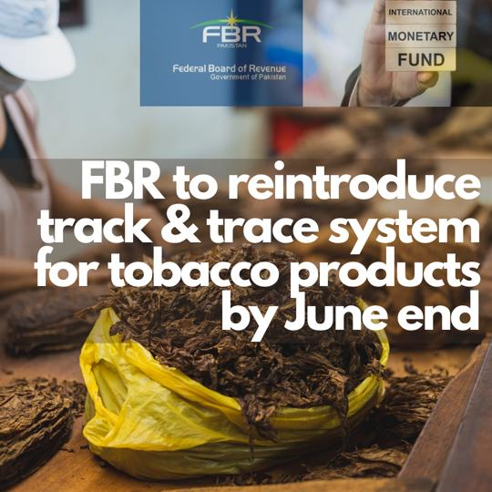 Track Trace System Tobacco Industry By FBR