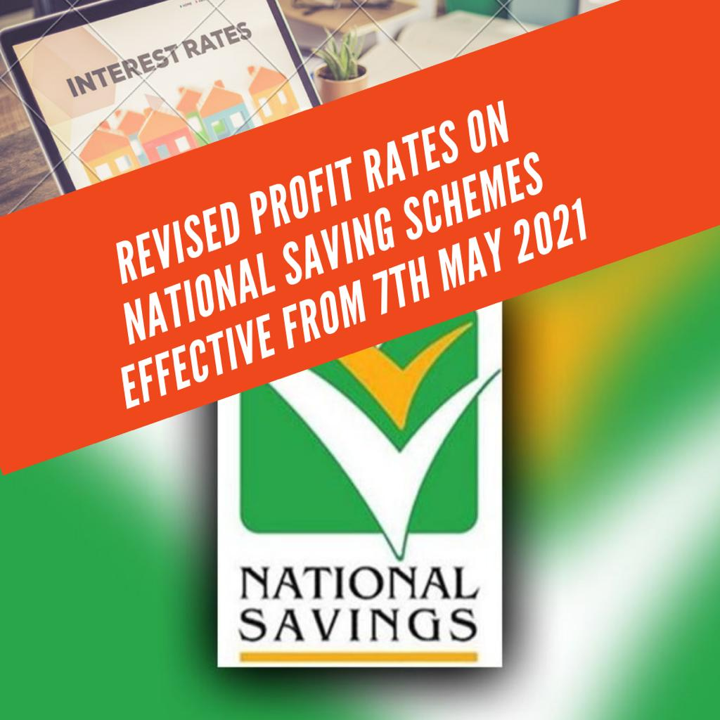 Revised New Profit Rates on National Saving Schemes
