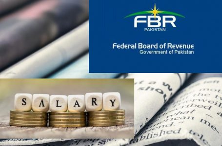 Taxes on Salaries and Pensions: FBR Issues Clarification