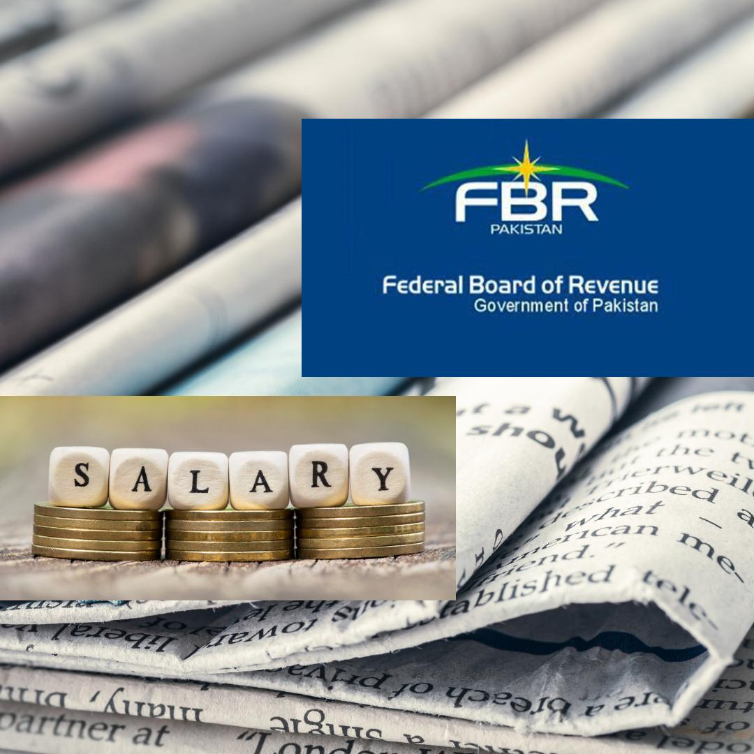 FBR Clarification of Tax On Salary and Pensions