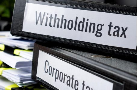 Omission and merger of withholding tax provisions in finance act 2021