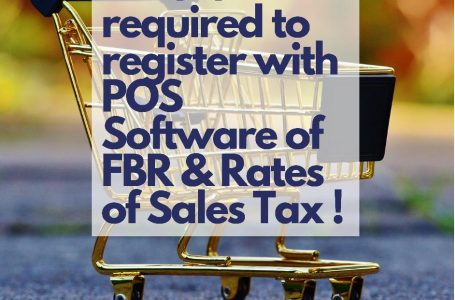 Who is required to Get Register with Point of Sales Software of FBR ?