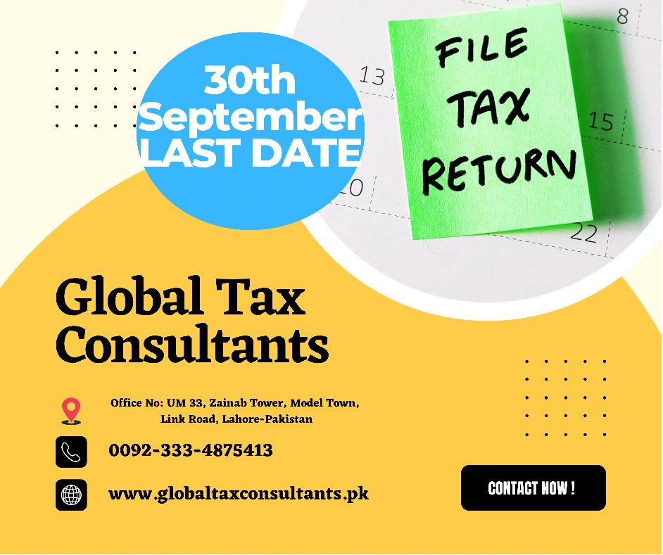 Top Tax Consultants Tax Return submission Last Date