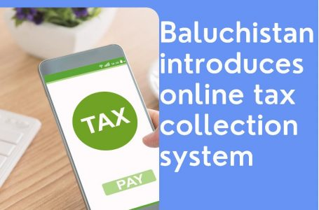 Balochistan finance department introduces online tax collection system