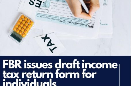 FBR issues draft income tax return form for individuals