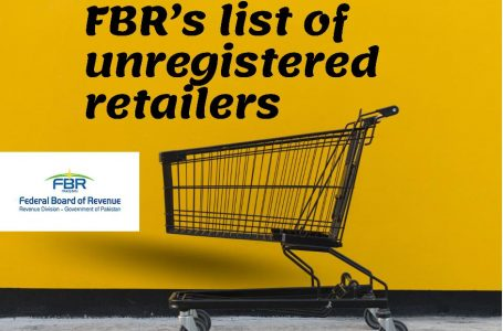FBR issued list of identified Tier1 nonintegrated retailers