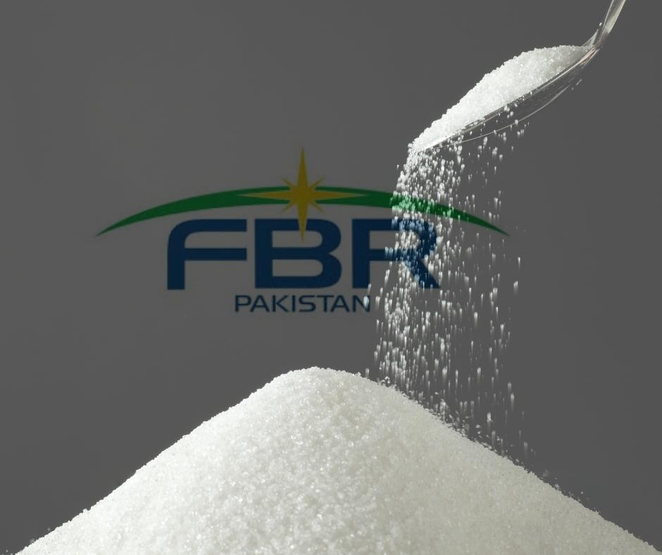 FBR suspends sales tax on sugar SRO 989