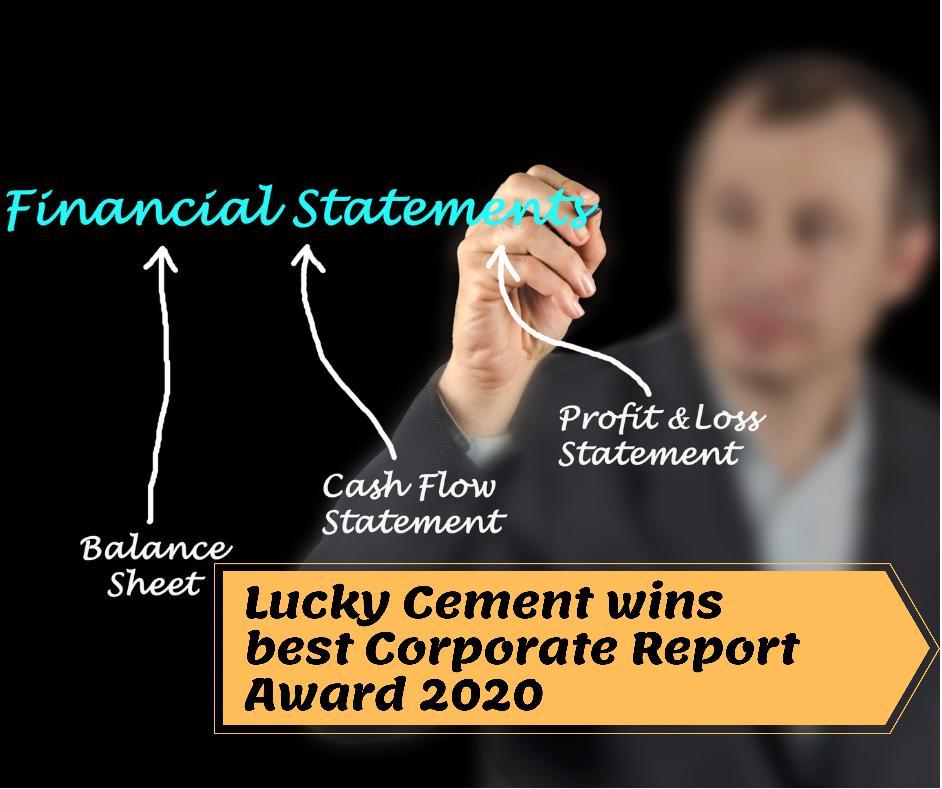 Lucky Cement Wins Best Corporate Report Award 2020