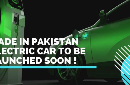 Overseas Pakistanis developed made in Pakistan electric car to be launched soon