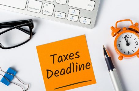 Current figures of tax filings for tax year 2021