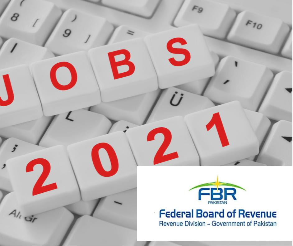 FBR Jobs 2021 Advertisement Application Form and last date