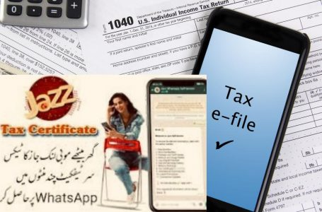 Jazz Tax Certificate 2021 | How to download Jazz Tax Deduction Certificate Online, WhatsApp and SMS