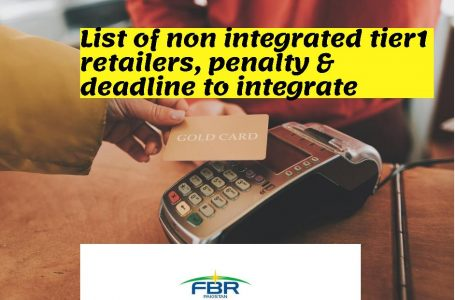 List of updated nonintegrated tier-1 retailers, penalty and deadline to integrate