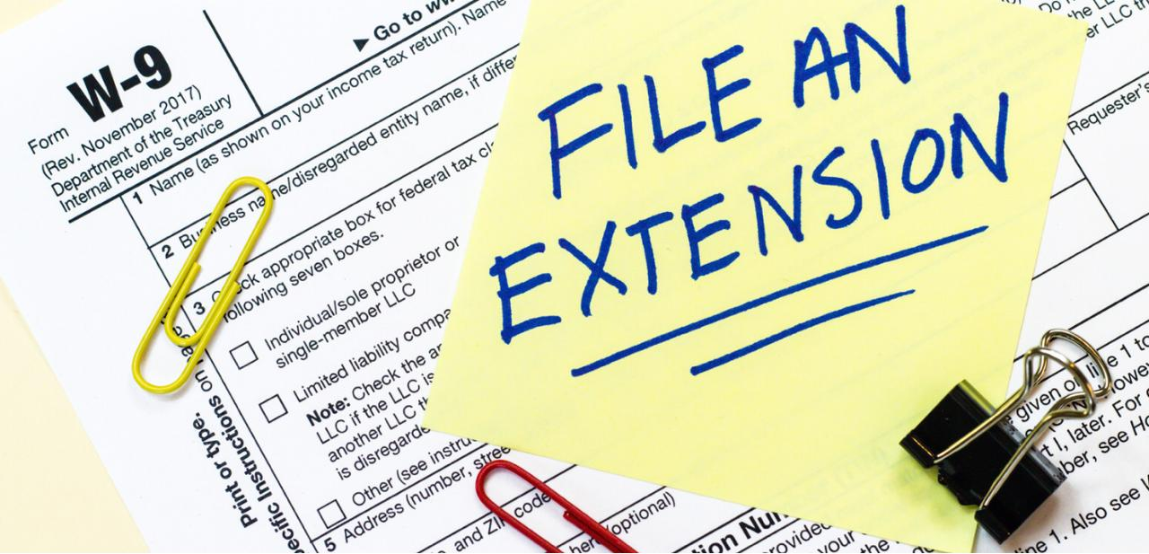 Procedures to apply for extension in last date for filing income tax returns