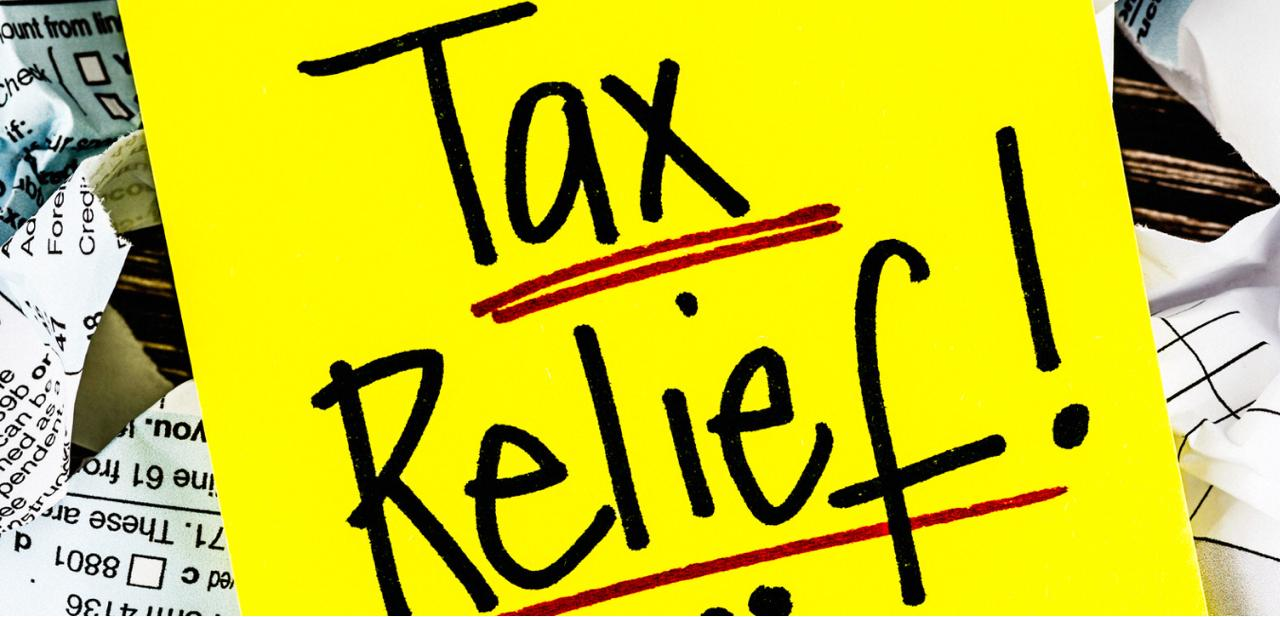 Tax Incentives exemptions relief granted under tax laws third amendment 2021