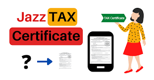 Jazz Tax Certificate 2021   Get Jazz Withholding Tax Certificate