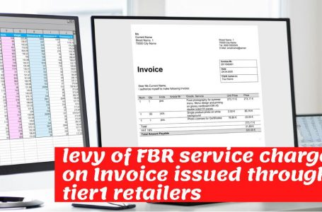 Levy of service charges of Rupee one per invoice issued through Tier-1 Retailers