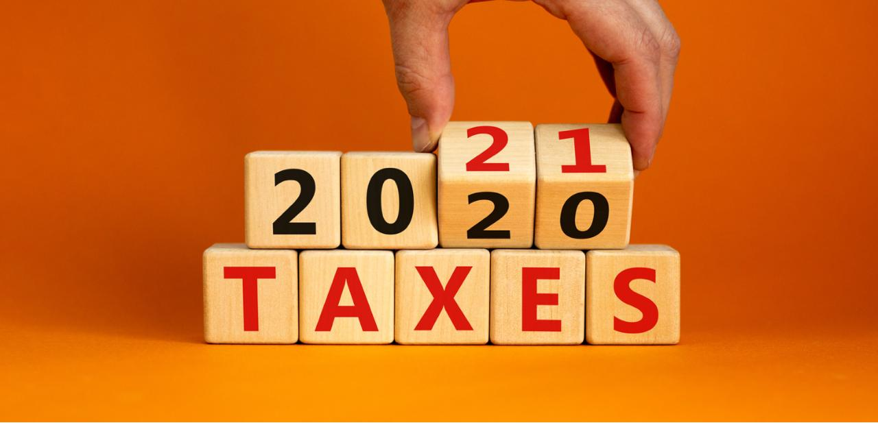 Current figures of income tax return filings for tax year 2021